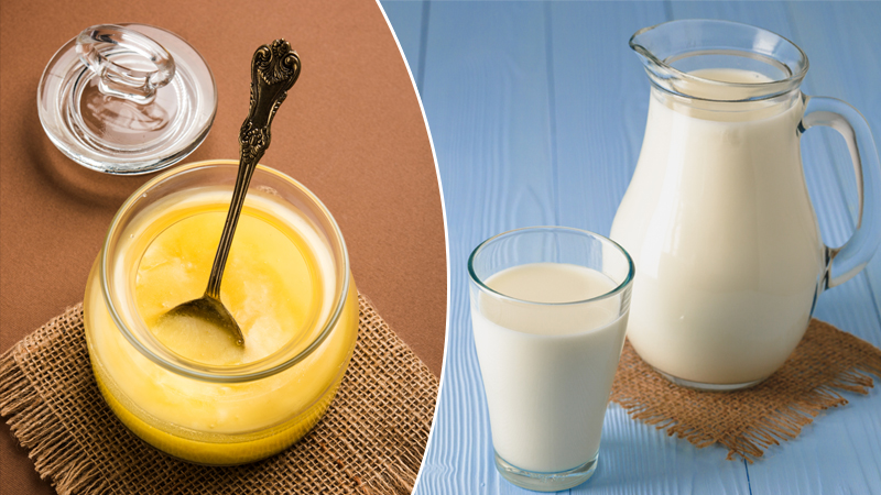 drink milk daily at night by adding ghee to it you will get these amazing benefits
