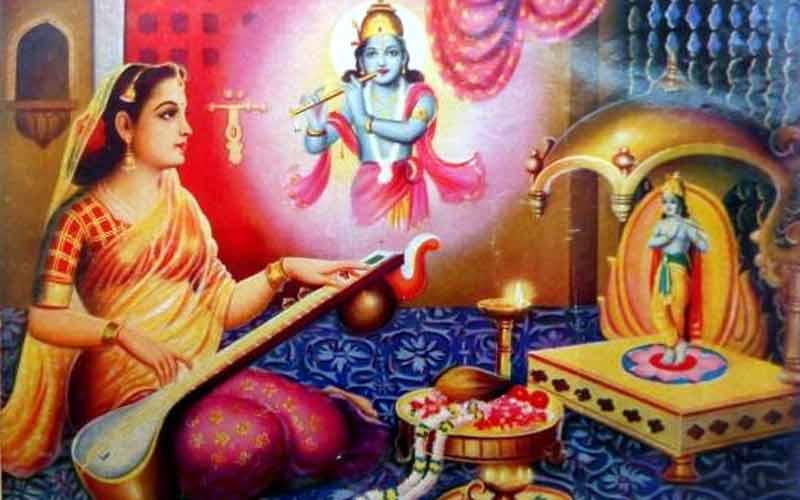 Lord Krishna Devotee Meerabai