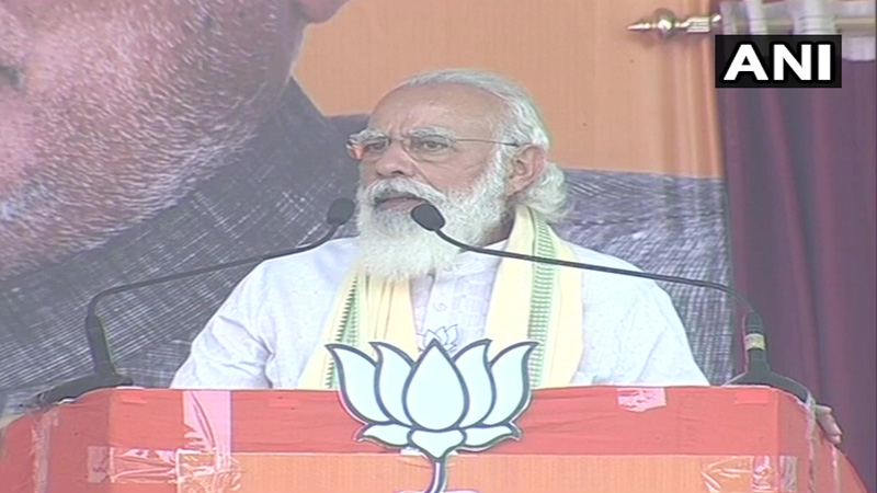 pm narendra modi rally in bihar elections 2020 live updates 2020 rahul gandhi tejashwi yadav bjp nitish kumar jdu