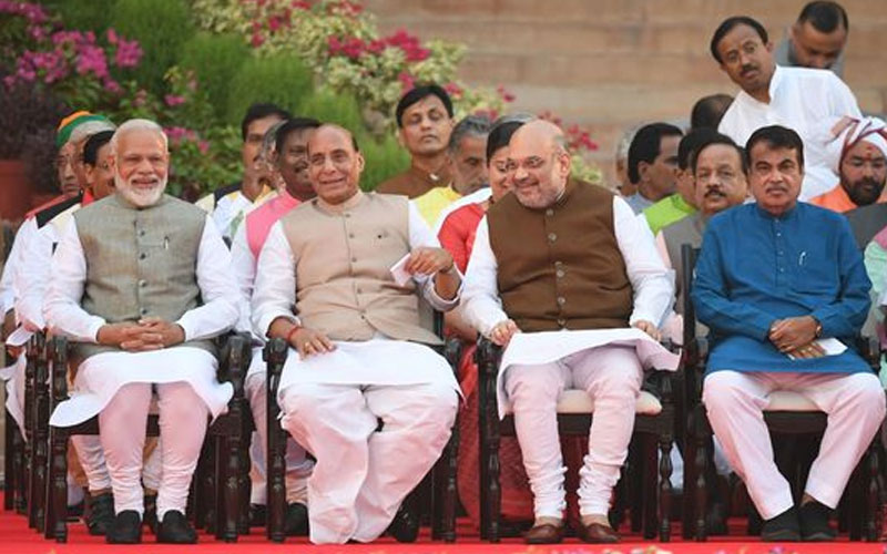 who is the number two minister in new narendra modi cabinet 2019