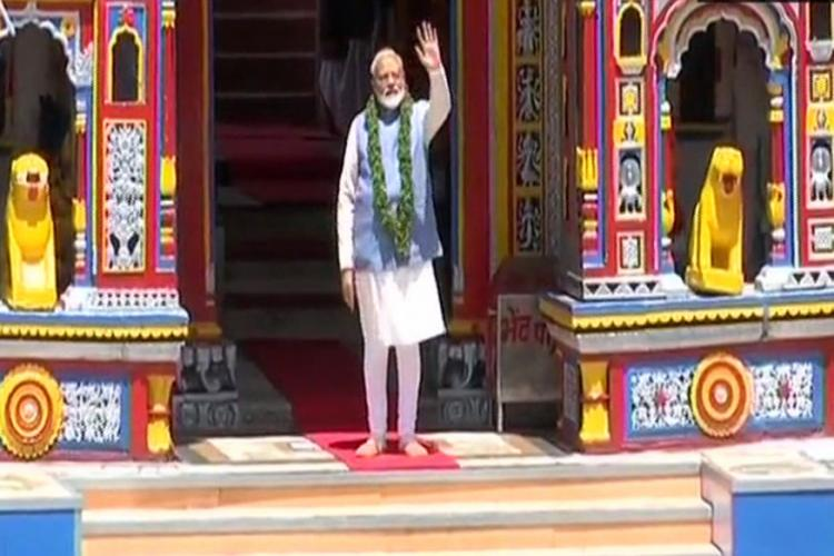 trinamool-complain-to-ec-against-pm-modi-blatantly-breaking-poll-code-kedarnath-visit
