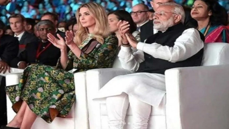 ivanka trump shared photos with pm modi from her india visit spoke about strong friendship
