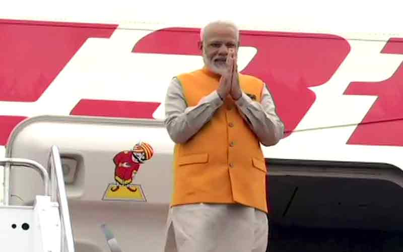 PM Modi Arrives In Japan For G20 Summit, To Meet Leaders