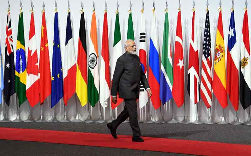 PM Modi holds separate talks with presidents of Indonesia, Brazil