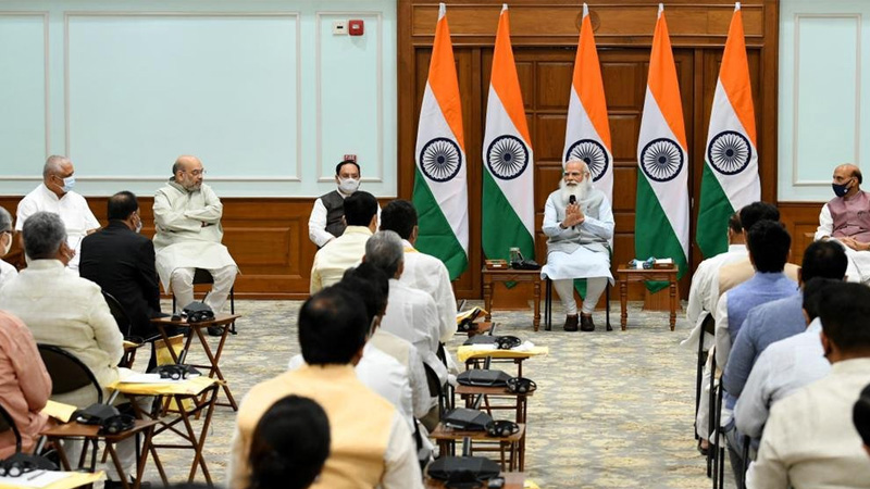 modi cabinet reshuffle latest news back to back meetings of union cabinet council of ministers expected today