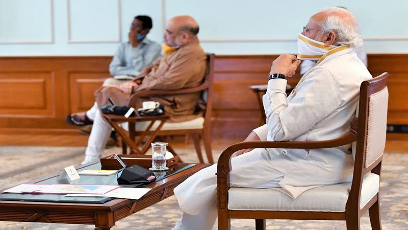 amit shah, s jaishankar, piyush goyal, meet amid india china standoff discussion over 5g issue