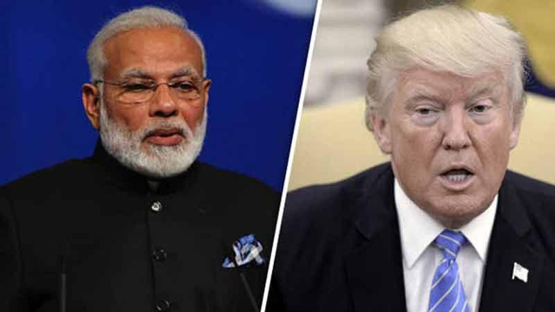 Donald  trump Talks Mediation On Kashmir Again