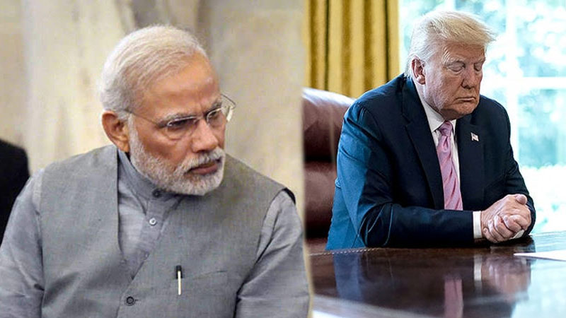 president donald trump pm modi not in good mood border row with china