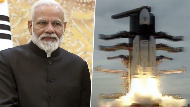 pm narendra modi to reach isro tonight