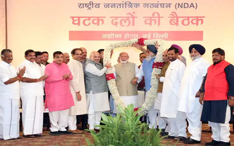 Leaders Arrive For PM Modi, Amit Shah's Dinner In Delhi