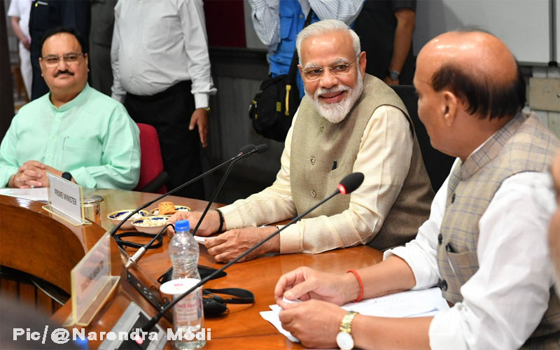 All-party meeting on one nation, one election Rajnath Singh