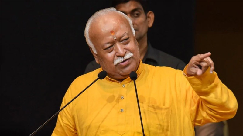 rss chief mohan bhagwat india is hindu nation