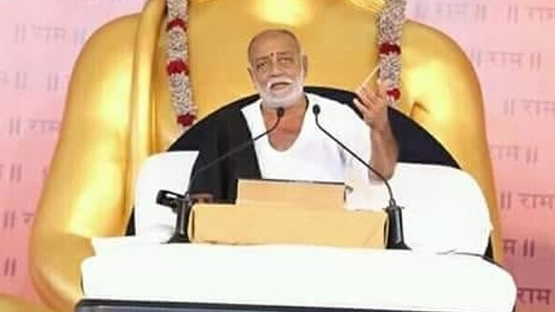 Storyteller Morari Bapu came to the aid of the victims of Megh Kaher in Saurashtra, announced the donation of so many lakhs