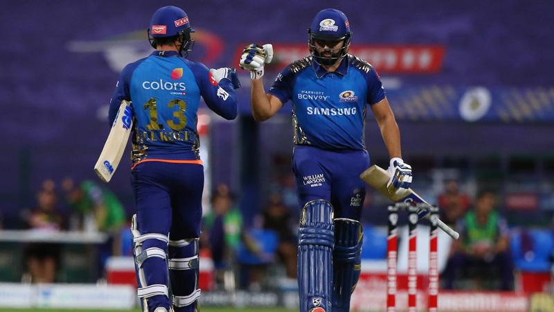 IPL 2020 Mumbai Indians beat Kolkata Knight Riders
