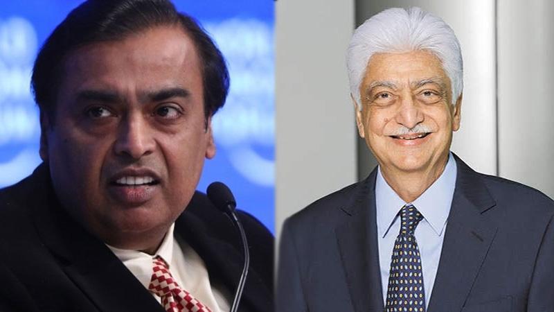 reliance mukesh ambani vs azim premji led wipro premji invest adv partners buys large stake micro plastics toy industry
