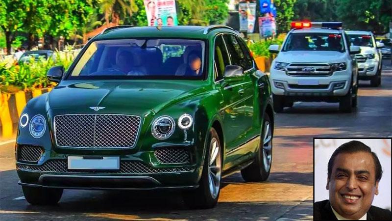 Mukesh Ambanis multi crore car convoy on VIDEO First Indian To Get Rolls Royce Cullinan