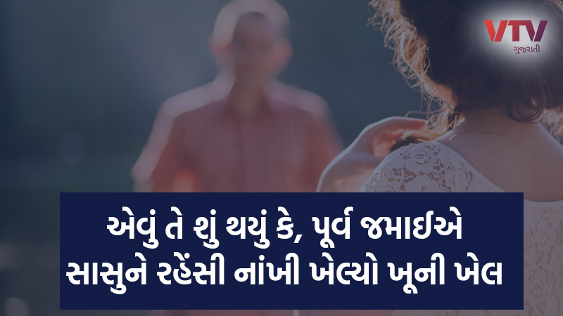 son in law killed mother in law in Anand Gujarat
