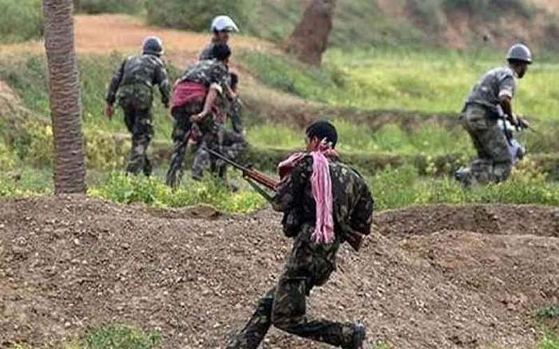 cg narayanpur ied blast polling booth itbp troops naxals
