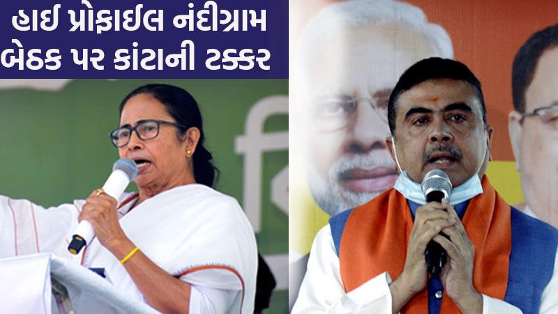 BJP announces candidates for 57 seats, Suvendu to contest against Mamata Banerjee at Nandigram