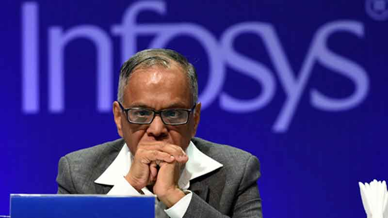 GDP growth might hit the lowest since 1947 warns n r narayan murthy