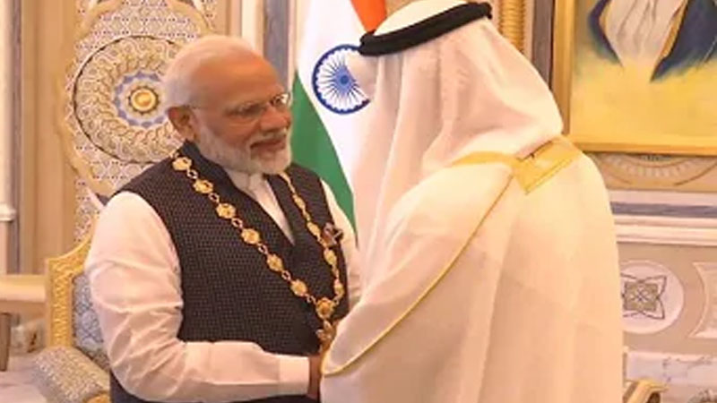 Even the sky is not the limit for UAE India ties, india-victim-of-border terrorism for four decades says Indian PM Modi