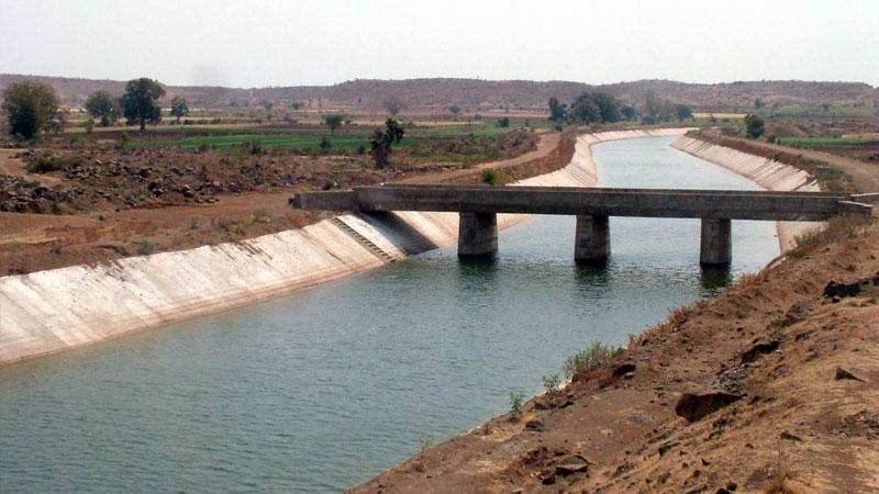 Narmada canal water farmer problem