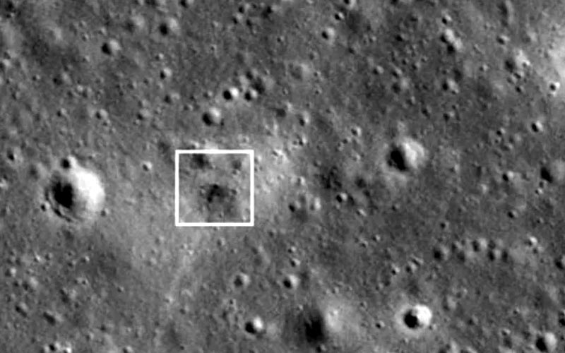 NASA locates crash site of Israeli spacecraft on Moon