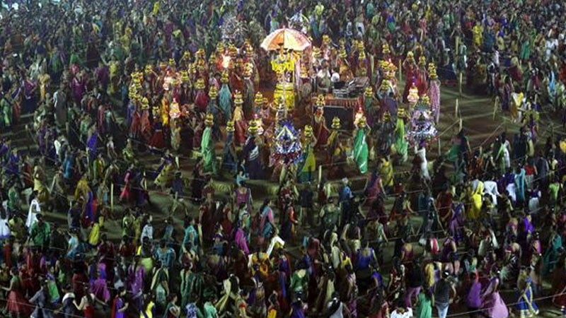 Navratri traffic rules parking and fire safety no permission garba