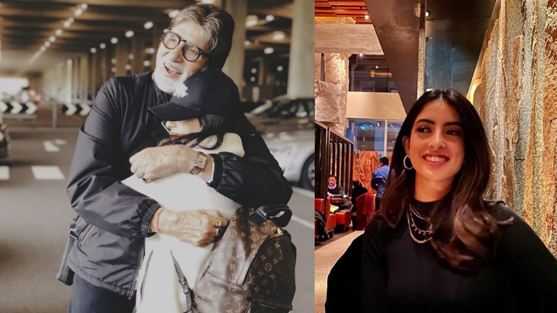 Navya Naveli Nanda shares new pics, her flirty exchange with Meezan Jaffrey make us wonder if he clicked them