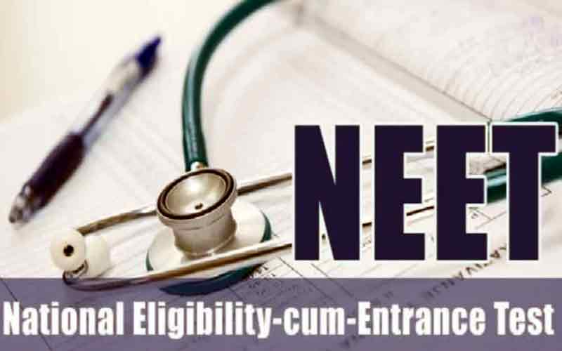 Today more than 75,000 students of the state will give 'NEET'