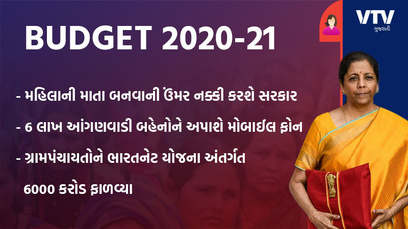 what for women in nirmala sitharamn this Budget 2020