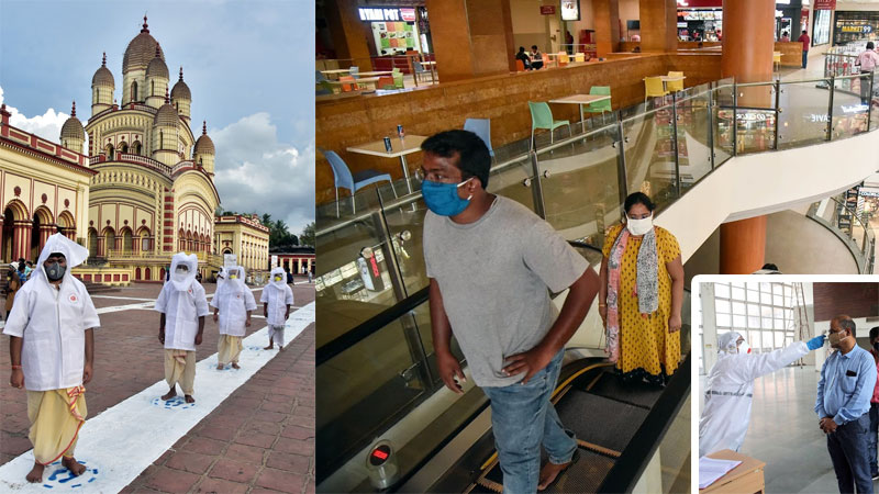 Govt issues revised guidelines for hotels malls and religious places