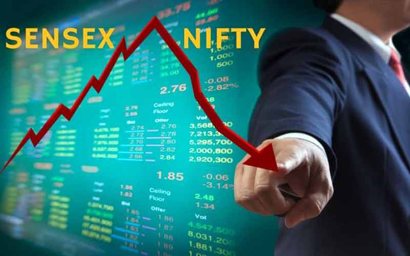 BJP Government Nifty Down BSE NSE Stock Market