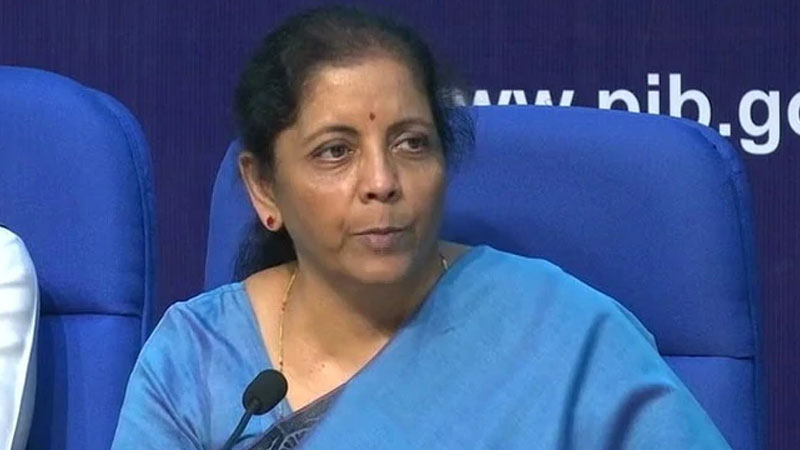 nirmala sitharaman announces relief for msme urges banks to increase public lending