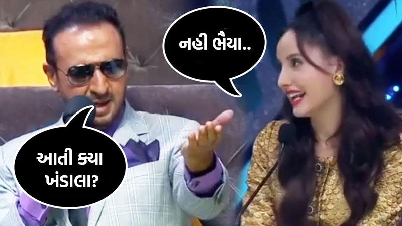 when gulshan grover ask nora aati kya khandala