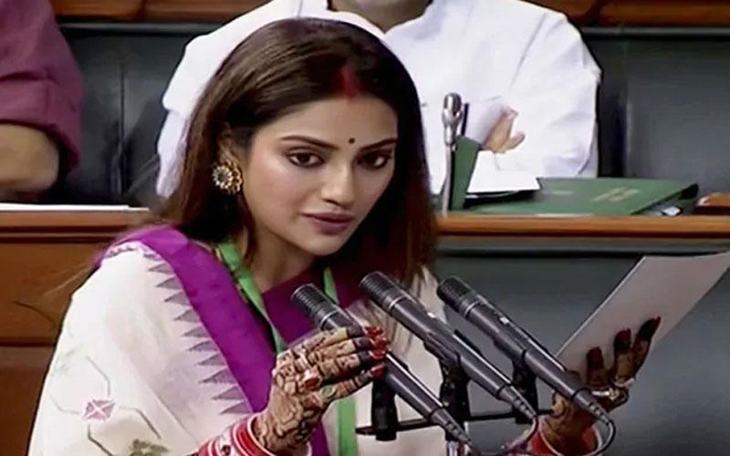 after criticism over attire nusrat jahan said i represent inclusive india