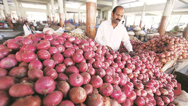 onion prices surge to rs 70 80 kg center mulls imposing stock limits