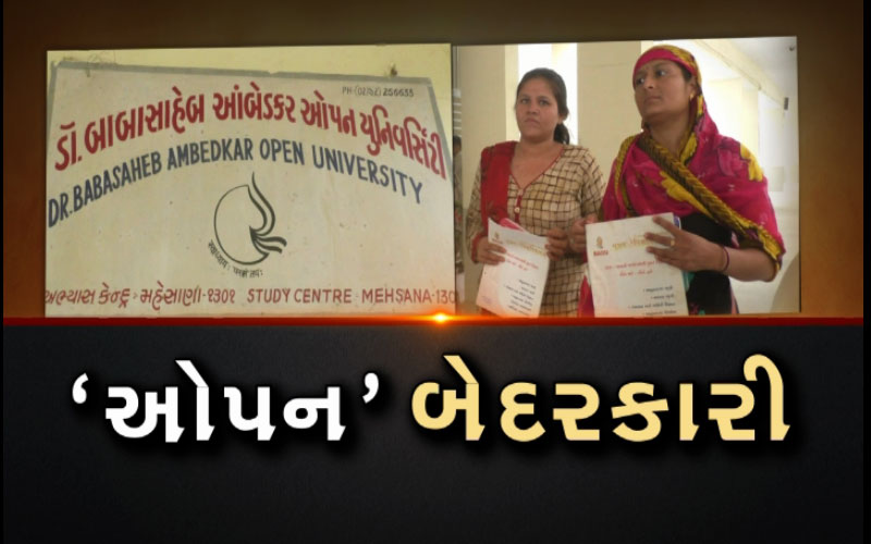 Dr. Babasaheb Ambedkar Open University negligence