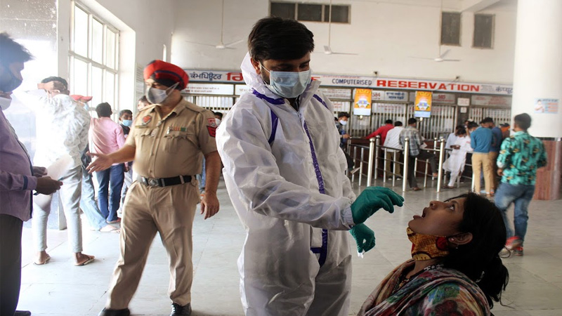 second wave of corona virus coming under control in delhi decline in infection rate