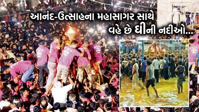 palli melo ghee festival rupal village Vardayini mata gandhinagar gujarat