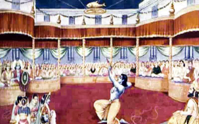 Draupadi Swayamvar Drupada Raja Purohit Pandav