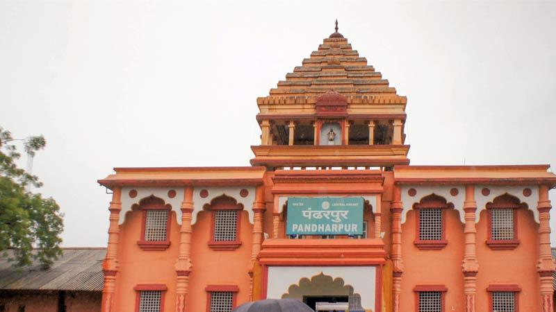 Vitthal Rukmini temple in Pandharpur