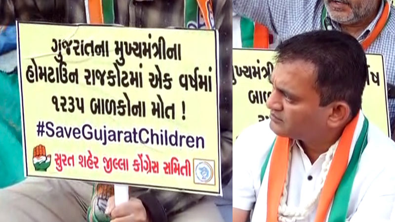 child death in state paresh dhanani gujarat government