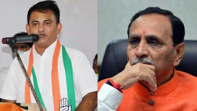 Paresh dhanani farmer gujarat government serious allegation