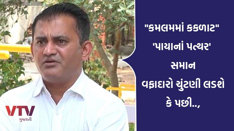 paresh dhanani  statement against bjp and kamlam