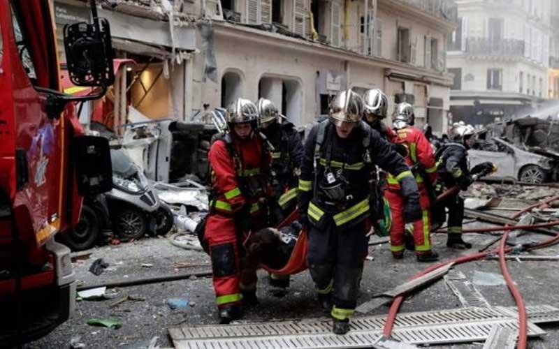 ફ્રાન્સની રાજધાની પૅરિસમાં જોરદાર ધમાકો  આસપાસની બિલ્ડિંગના કાચ તૂટ્યાં