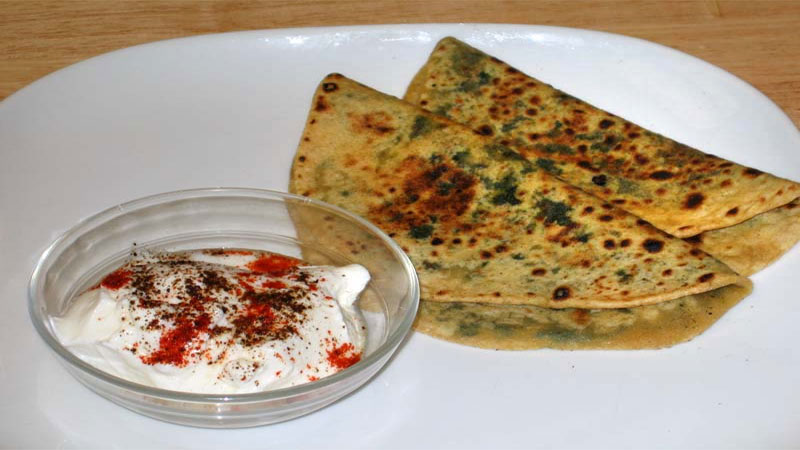 Try Coriander Paratha Recipe For Breakfast and keep Health Well