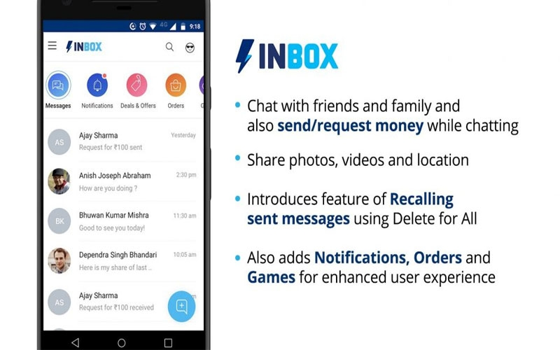 paytm-launches-inbox-in-app-with-whatsapp-like-chat-features