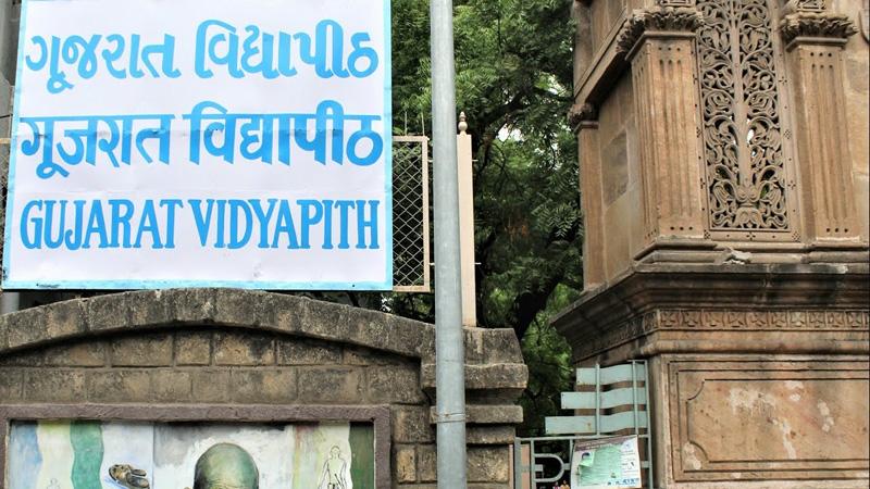 Gujarat Vidyapith ahmedabad student study Gandhian ideology