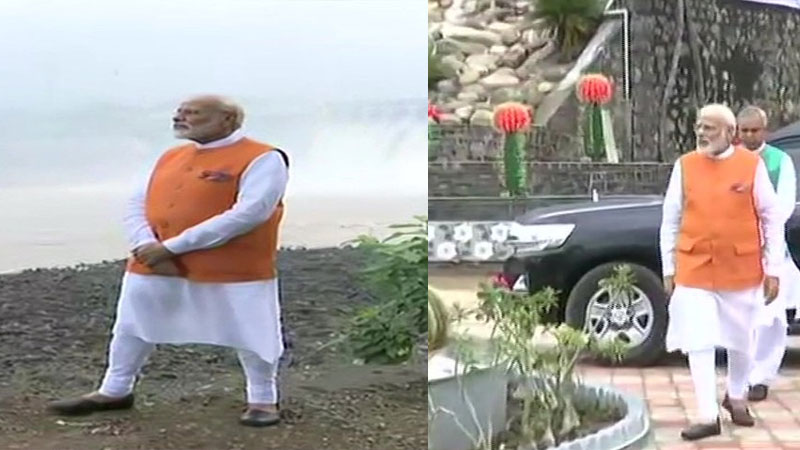 See Some Best Photos Of PM Modi Gujarat Visit On his Birthday